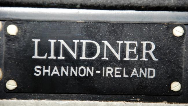 Lindner name plate
